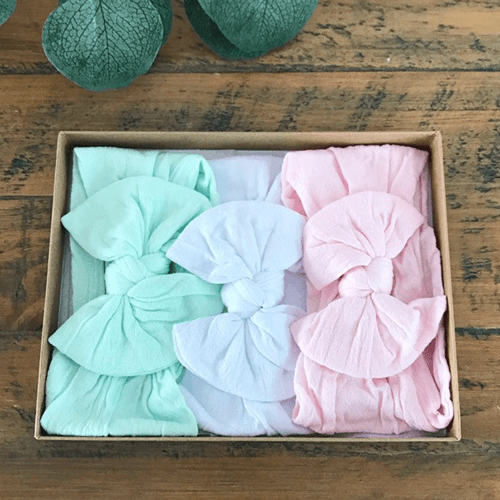 an image of baby bow headbands