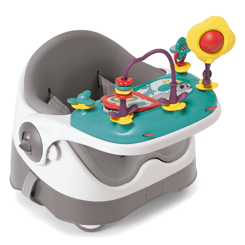 an image of the baby bud booster seat with play tray