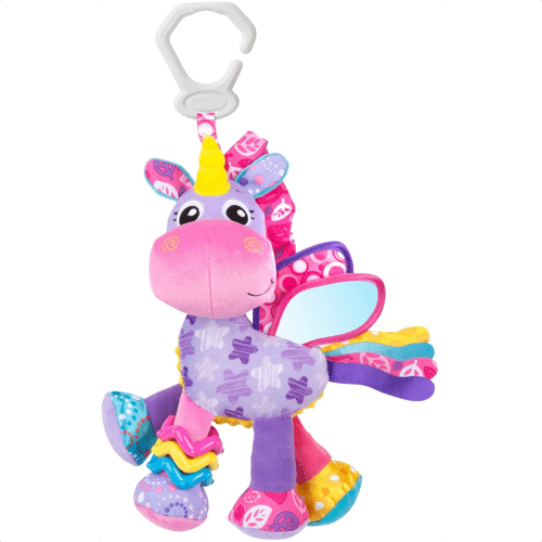 an image of a unicorn activity toy