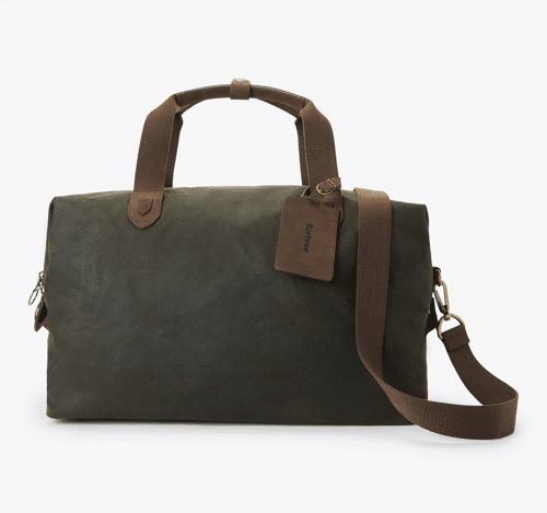 an image of a Barbour holdall