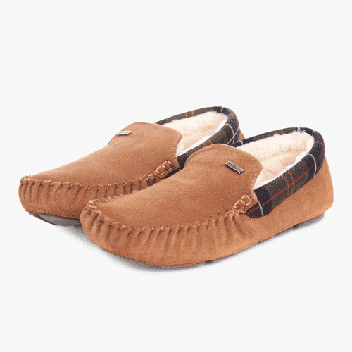 an image of barbour slippers, one of our 40th birthday gifts for him suggestions