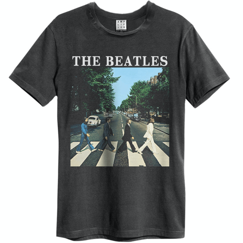 an image of a Beatles Abbey Road t-shirt
