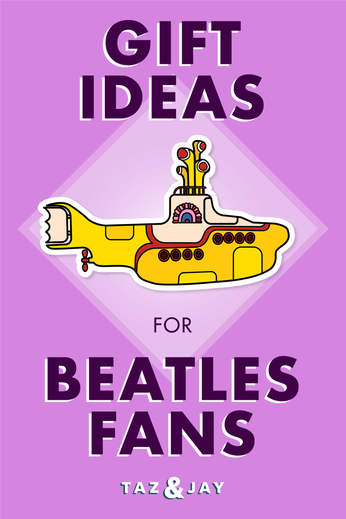 the beatles gifts pinterest pin image