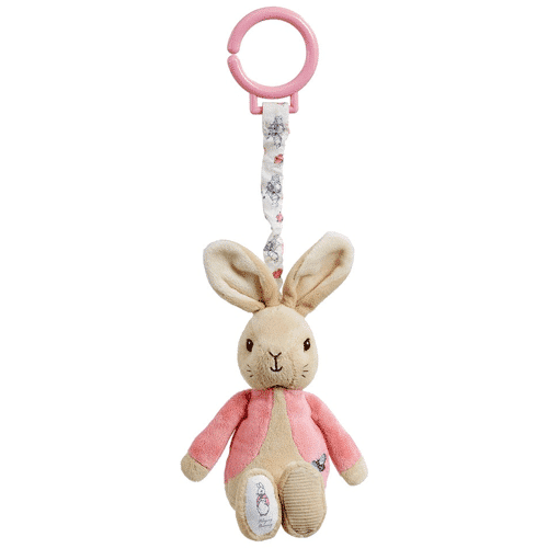 an image of a flopsy bunny pram toy