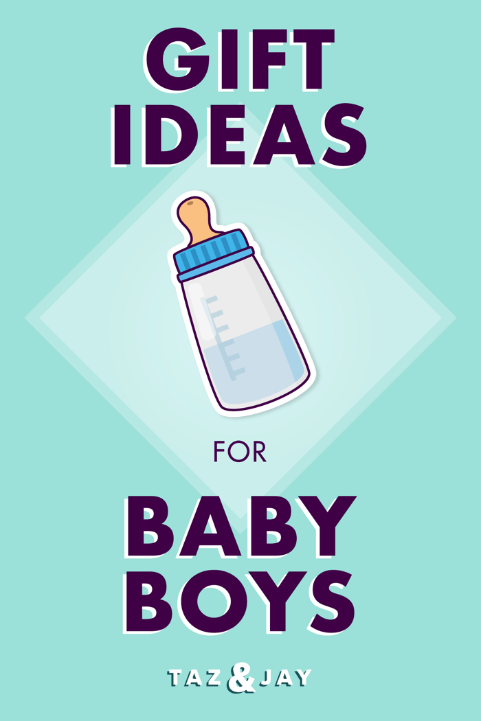 gift ideas for baby boys pinterest pin image