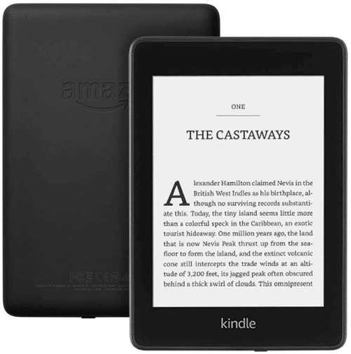 an image of a kindle paperwhite 8gb