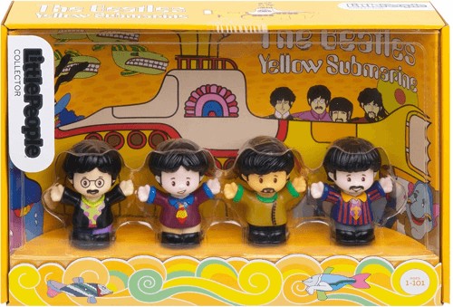 an image of The Beatles Yellow Submarine Limited Edition Little People gift idea