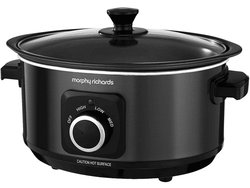 an image of a morphy richards slow cooker - one of the Taz & Jay suggestions for new mum gifts