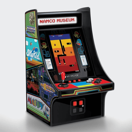 an image of a Namco Museum mini arcade with 20 games