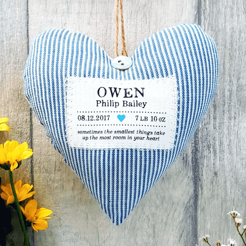 an image of a personalised heart gift