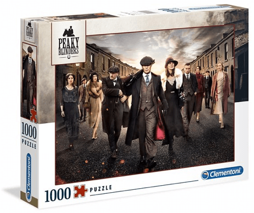 an image of a Peaky Blinders jigsaw puzzle