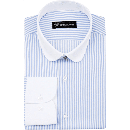 an image of a Tommy Shelby inspired penny collar shirt