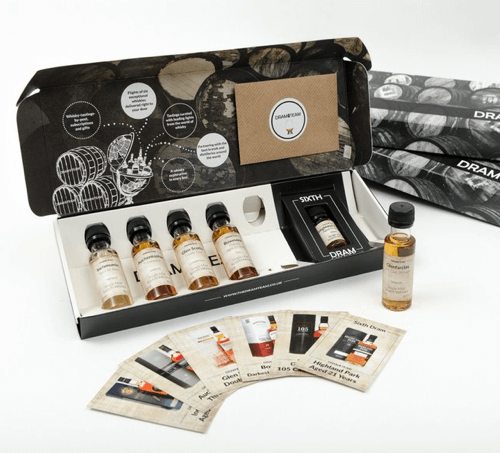 an image of a 3 month whisky subscription box