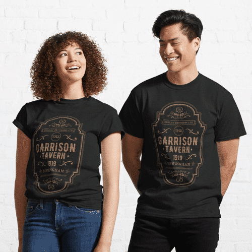 an image of a peaky blinders t-shirt