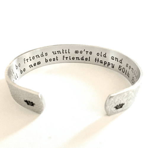 an image of a personalised bracelet