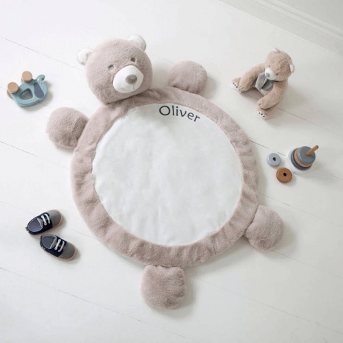 an image of a personalised bear playmat