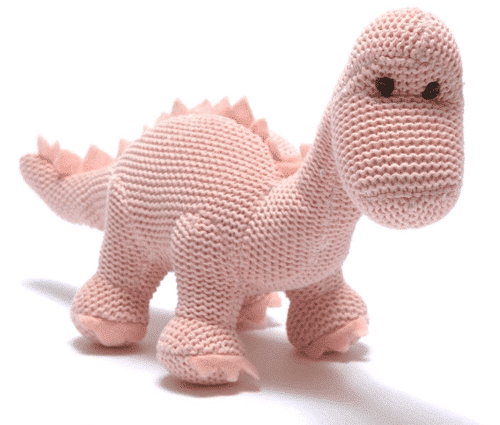 an image of a pink dino rattle
