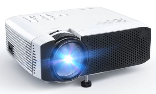 an image of a portable mini projector