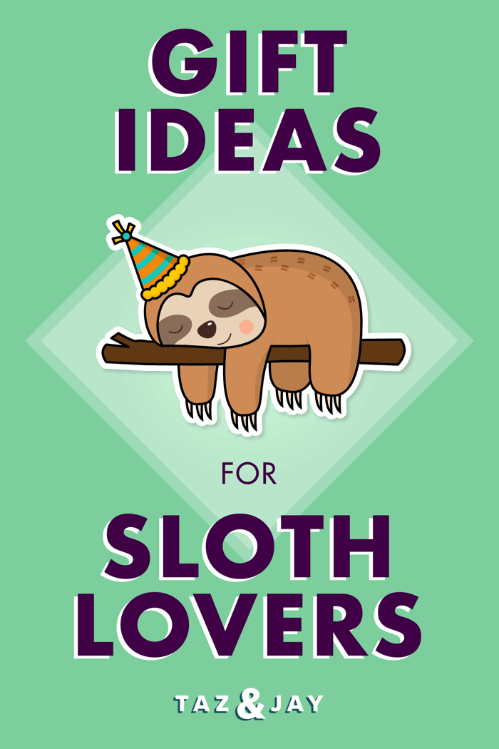 sloth gifts article pinterest share image