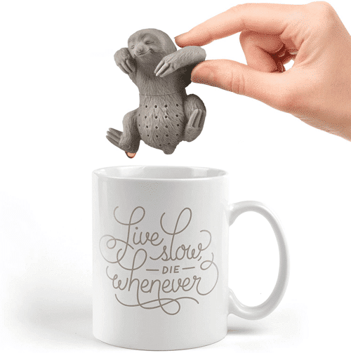 an image of a sloth tea infuser