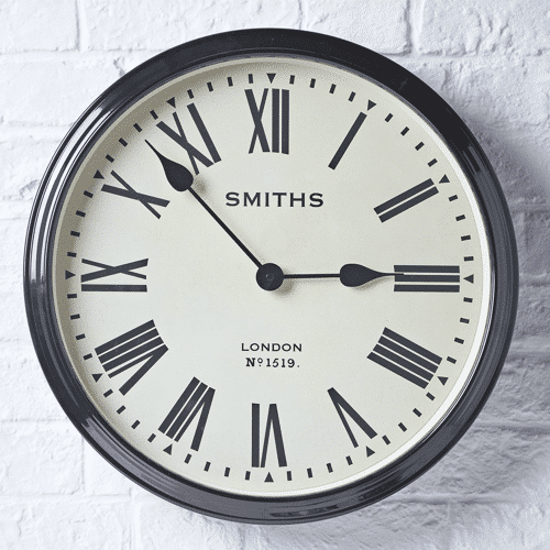 an image of a station clock