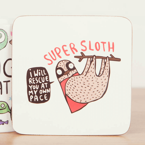 an image of an animal themed coaster gift