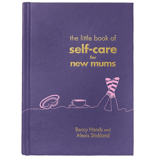 an image of a book about self care for new mums