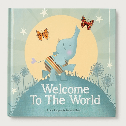 an image of a welcome to the world book