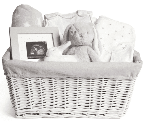 an image of a hamper gift for new mums