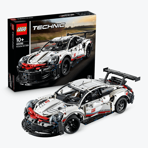 an image of the LEGO Technic 42096 Collectable Car Models Porsche 911 RSR Race Car