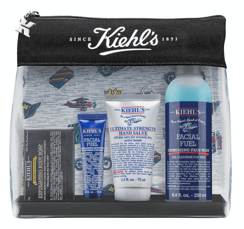 an image a Kiehl's men's gift set - one of our suggestions of 30th birthday gifts for him