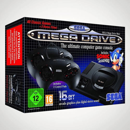 an image of a Sega mega drive mini console