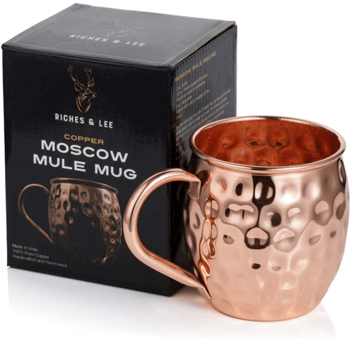 an image of a copper moscow mule mug
