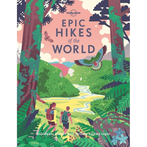 an image of a book outlining the epic hikes of the world - one of the essential hiking gifts or gifts for hikers