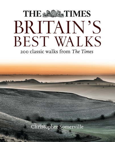 an image of a book highlighting the best walks in Britain