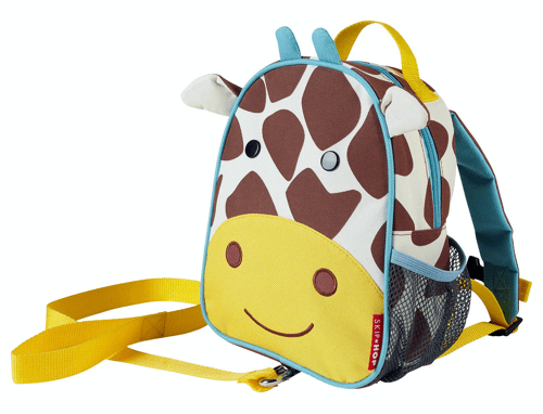 an image of a giraffe backpack for toddlers