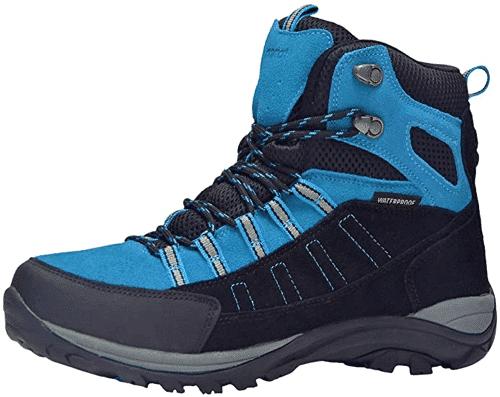 an image of walking boots - one of the essential gifts for ramblers