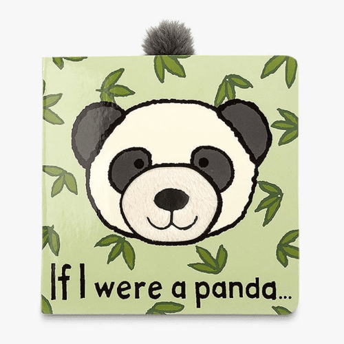 an image of a children's book titled If I Were A Panda