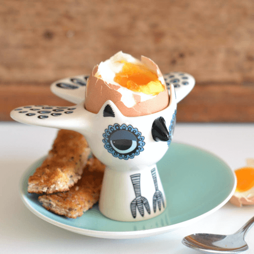 an image of an owl eggcup
