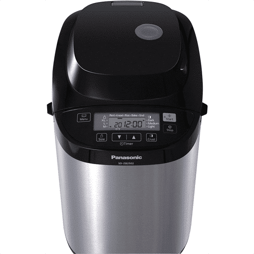 an image of a Panasonic stainless steel bread maker