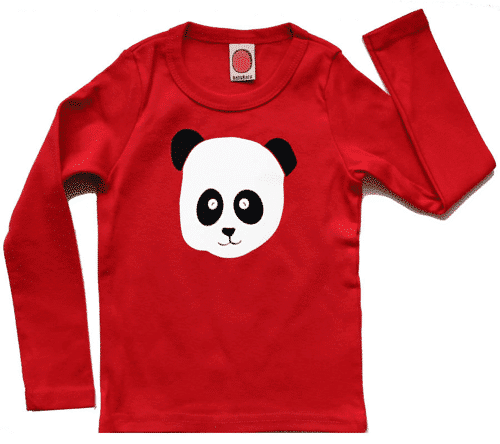 an image of a panda top for children