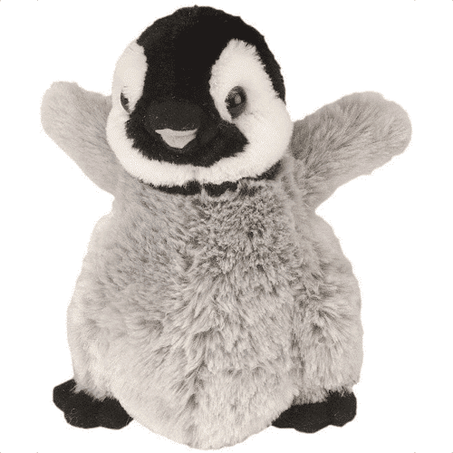 an image of a penguin plush soft toy - one of our ideas of penguin baby gifts