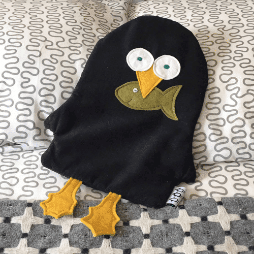 an image of a hot water bottle - one of our ideas for penguin gifts for adults or children alike