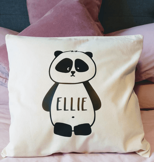 an image of a personalised cushion cover gift idea