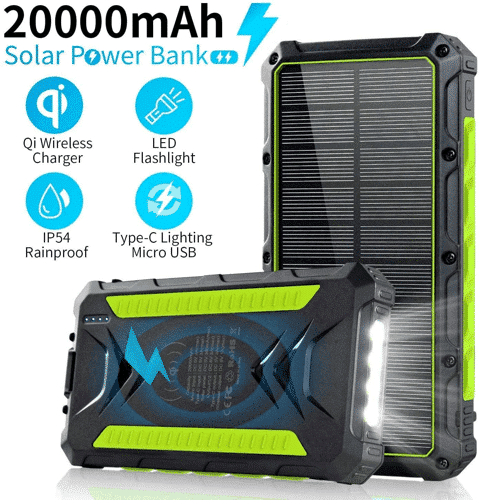 an image of a portable solar power bank - one of our ideas of gifts for walkerss