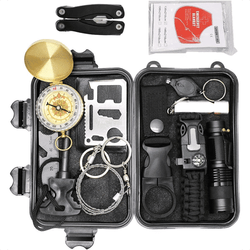 an image of an outdoor survival kit