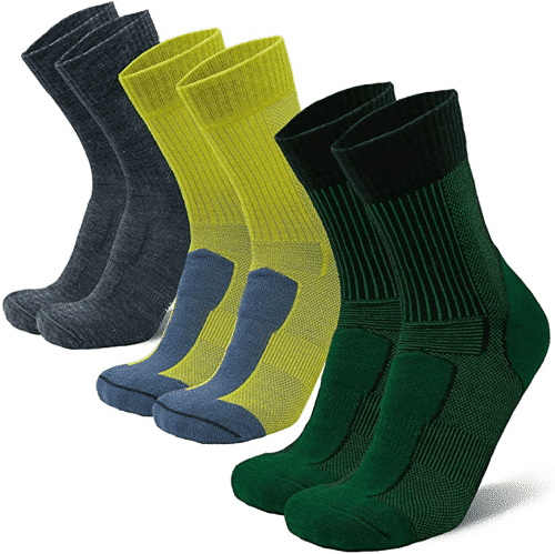 an image of merino wool hiking socks - a gift idea for walkers