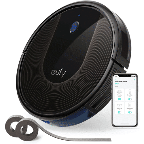 an image of a robotic vacuum cleaner - one of our silver wedding anniversary gifts ideas