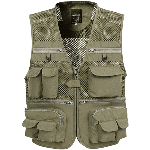 an image of a quick dry fishing vest
