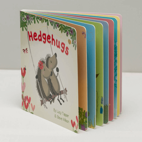 an image of a hedgehugs board book for children